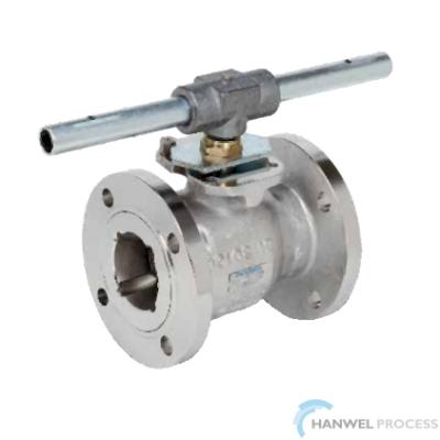 Habonim flanged ANSI reduced port valves