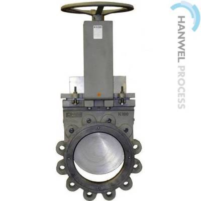 Shut-off valve type GGNA is made of Ductile cast iron with solid monobloc housing